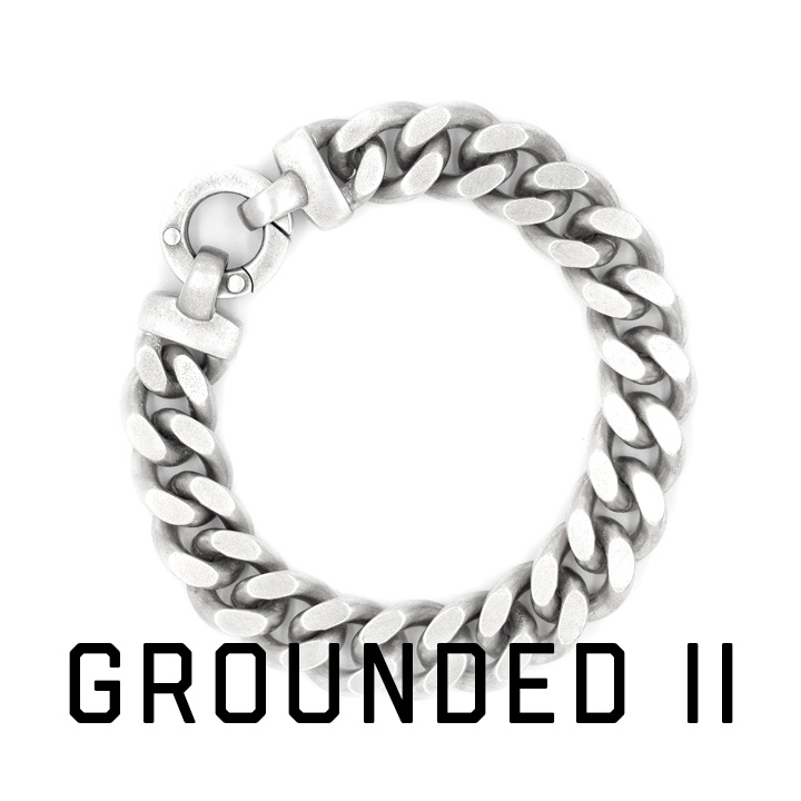 Grounded Cubic Bracelet